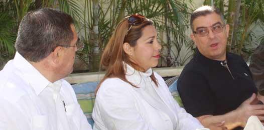 Visita La Paz el embajador de Egipto