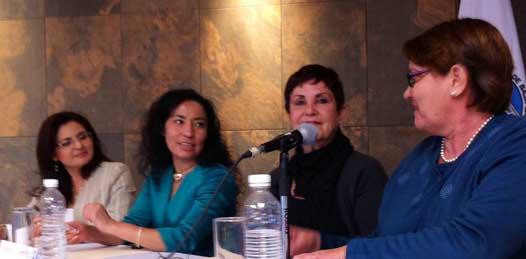 """""""Hacer una rueda de prensa es un recurso pero no es un recurso legal"""" explicó Blanca Olivia Peña sudcaliforniana experta en temas electorales y cuota de género."""