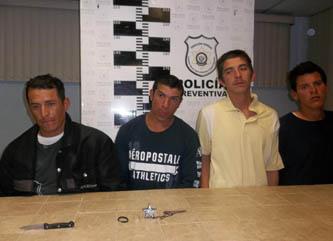 Juan Pablo Ramírez Torres, Juan Luis Hale,  Jonathan Rodríguez Freen, y Federico Jacquez Mejía.