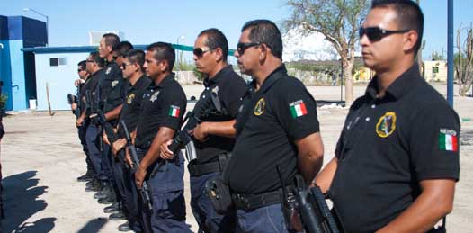 Sólo el 60% de la policía en BCS es confiable