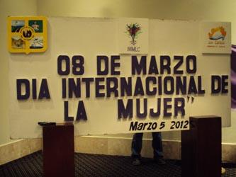 Continúan los eventos conmemorativos del Día Internacional de la Mujer. Conferencias y proyecciones de cine tendrán lugar desde hoy hasta el martes 13 de marzo.