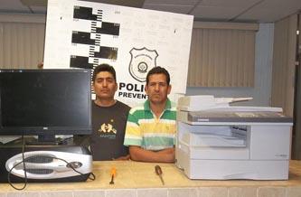Valdemar Plata Hernández y Fernando Vázquez Orozco.