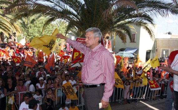 Enrique Peña está inseguro: López Obrador