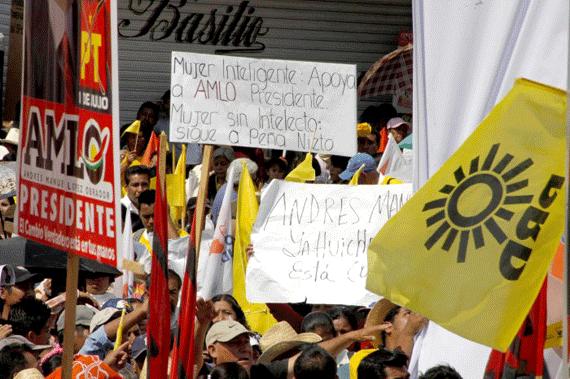 Habrá desarrollo con justicia para Oaxaca: AMLO