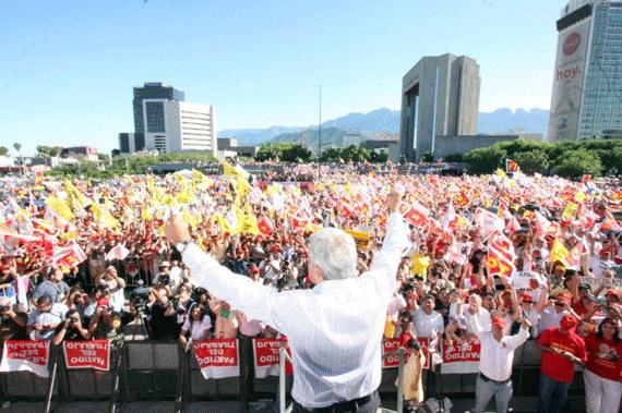 Se terminará con la robadera en el gobierno: López Obrador