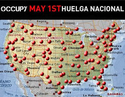 Indignados y Anonymus convocan a paro nacional el 1 de mayo