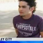 Gary Gaines Hidalgo ha vuelto a la ciudad y ya se le ha visto de nuevo en medio de actos violentos, en esta ocasión destrozando a botellazos el rostro de un joven y golpeando a una mujer.