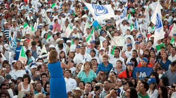 Josefina reúne a más de 30 mil sonorenses