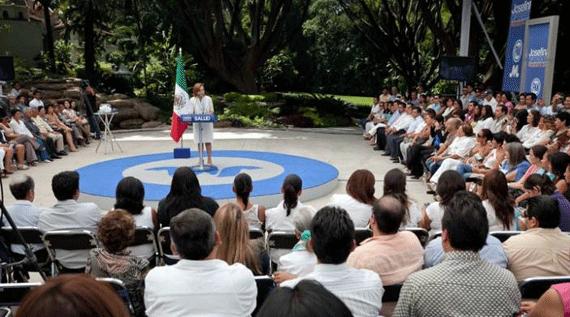Ofrece Josefina calidad en sector salud