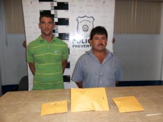 Carlos Javier Avilés Verdugo y Luis Alejandro Sánchez Alvarez.