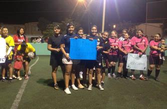 Pequeñas Gigantes venció a Cabo United  17 goles a 3.