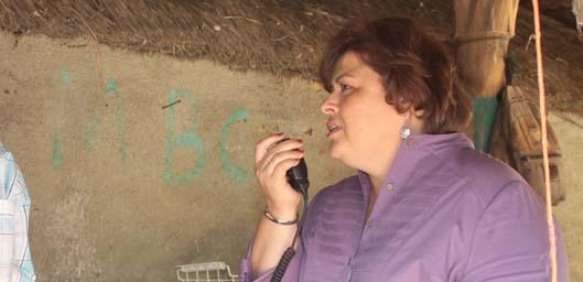 La alcaldesa de La Paz, Esthela Ponce Beltrán, señaló que su gobierno es respetuoso con las inclinaciones políticas de los trabajadores del Ayuntamiento de La Paz y que todo aquel que guste apoyar a un partido distinto al Revolucionario Institucional puede hacerlo.