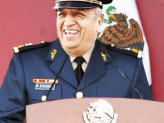 El general retirado Ricardo Escorcia Vargas es el tercer involucrado.