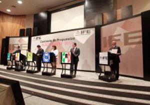 IFE Primer Foro de Contraste de Propuestas Electorales 2012