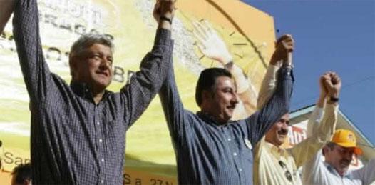 López Obrador dijo que en el combate a la corrupción no debe haber tregua y recordó que con el ex mandatario ya no tenía ninguna relación, pues Agúndez desde hace tiempo apoyaba al Partido Revolucionario Institucional (PRI) y a su candidato presidencial Enrique Peña Nieto.