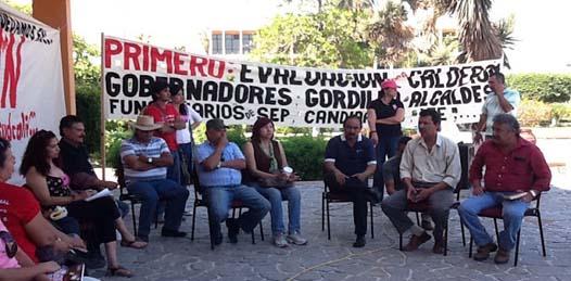 """El CESD lanza un reto a las """"autoridades de Gobierno y a los propios diputados, a un debate público que nos garantice que conocen sobre el tema y que no es simplemente el seguimiento de acuerdos salpicados de corruptelas entre el estado de gobierno y la lideresa más odiada de México, y tal vez del mundo, Elba Esther Gordillo Morales""""."""