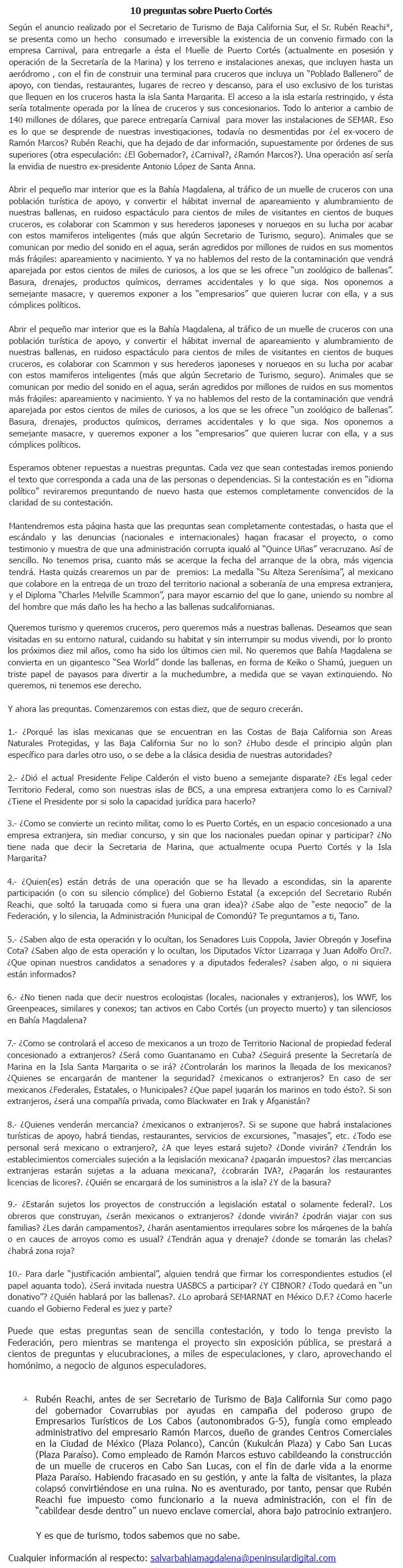 10 Preguntas sobre Puerto Cortés