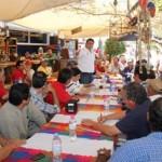Ricardo Barroso informó a los empresarios de la pesca deportiva que el próximo 25 de mayo el candidato presidencial Enrique Peña Nieto estará en Mazatlán donde escuchará la problemática pesquera del país y donde firmará los compromisos con el sector.