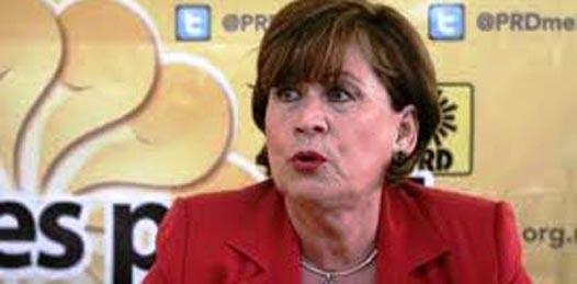 """El Partido de la Revolución Democrática (PRD) sí lleva las cuentas claras, nada más que """"no hay recursos"""", dejó ver Rosa Delia Cota Montaño."""