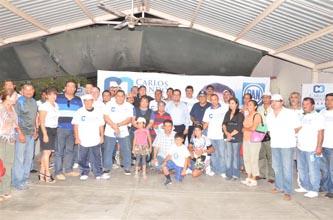 En reunión con deportistas de La Paz, el candidato del PAN al Senado de la República, Carlos Mendoza Davis, se comprometió a trabajar para dar mayores recursos para la práctica del deporte.