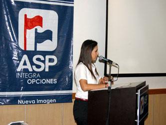 Además de la celebración por tan importante fecha, la empresa aprovechó la ocasión para cambiar su imagen y, desde el jueves pasado, dejo de ser ASP Financiera para convertirse en ASP Integra Opciones.