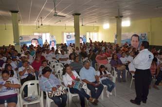 En un importante encuentro con trabajadores del IMSS de Comondú, el candidato del PAN al Senado de la República, Carlos Mendoza Davis, sostuvo que trabajará para gestionar infraestructura que contribuya al desarrollo de Baja California Sur.