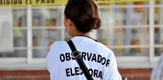 Se logró la acreditación de los ciudadanos  que presentaron solicitud para actuar en calidad de Observadores Electorales, teniendo contemplada la acreditación de 26 ciudadanos, mientras que se encuentran en proceso de ser acreditados 185.