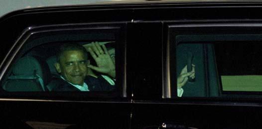 Llega Obama a Los Cabos