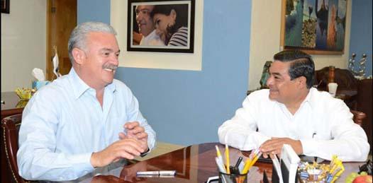 El Magistrado Presidente del Tribunal Federal de Justicia Fiscal y Administrativa, Juan Manuel Jiménez Illescas, sostuvo una reunión de trabajo con el Gobernador de Baja California Sur, Licenciado Marcos Alberto Covarrubias Villaseñor, en La Paz.