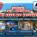 Hotel Finisterra - Promoción Julio 2012 (interstitial banner)