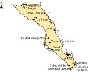 En Baja California Sur, datos censales de 2010 señalan que residen 637 026 personas, monto que lo coloca como el estado menos poblado del país