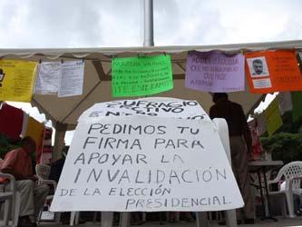 El magistrado Esteban Penagos López aseguró que ninguna marcha o manifestación influirá en las resoluciones del TEPJF.