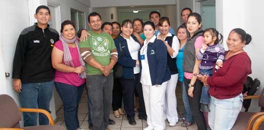 Los 29 trabajadores del Hospital Salvatierra