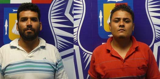 Juan Carlos Flores Leyva y Cristopher Cota Medellín.