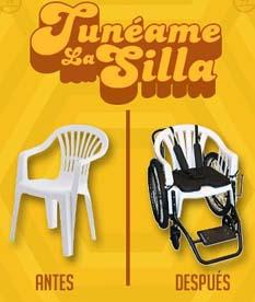 """""""Por redes sociales nos denostaron un poquito, pero el diseño de esta silla no es cualquiera: es diseñada por un par de científicos de Massachusetts; lo hicieron con el único propósito de ayudar a países donde hay personas con alguna discapacidad, pero este modelo está siendo denostado"""", dijo Plascencia Osuna."""