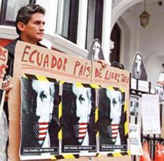 Britain Julian Assange seeks Political Asylum
