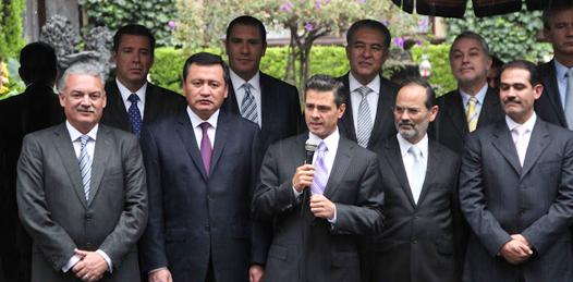 Marcos Covarrubias y EPN