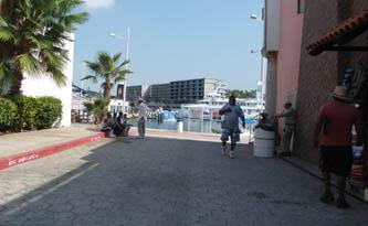 Ante la desesperante e innecesaria presencia de vendedores de actividades de turismo náutico en la Dársena de Cabo San Lucas, la Administración Portuaria Integral continúa sin actuar, pese al gran número de quejas de turistas, sobre todo los que llegan al destino vía cruceros turísticos.