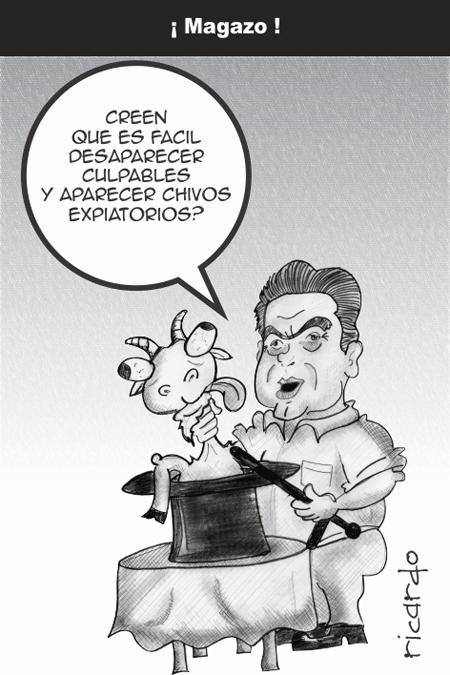 Los cartones de Ricardo: «¡Magazo!»