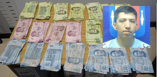 """""""Se encontró"""" una mochila con 36 mil pesos"""