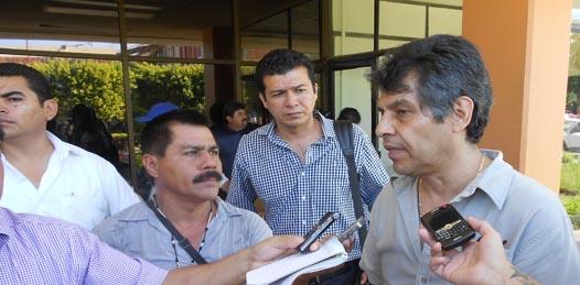 """Rubio Ruiz culpó a Gamil Arreola Leal, titular de PGJE, de que se violenten las garantías individuales de los sudcalifornianos con esta Casa de Arraigo, pues """"no conoce el procedimiento penal""""."""