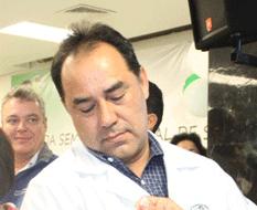 Santiago Alán Cervantes Aldama, titular de la Secretaría de Salud