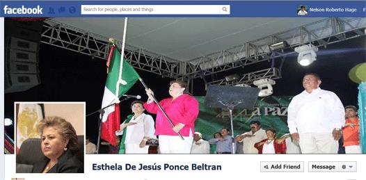 """Después de 2 años, """"descubren"""" que el FB de la alcaldesa es falso"""