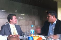 Se reunió el Alcalde  con Diputados Federales