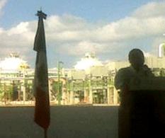 Felipe Calderón Hinojosa anunció el descubrimiento del pozo petrolero