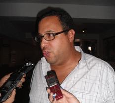 El gerente de comercialización de la Administración Portuaria Integral en la zona, César Lira Reynoso.