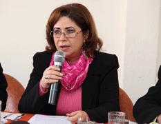 Martha Nevarez Esparza, directora de Ingresos del H. XIV Ayuntamiento de la Paz.