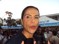 María Helena Hernández de Covarrubias, presidenta del Sistema DIF Estatal.