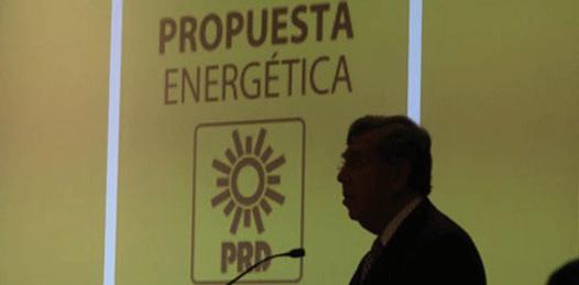 Contra la reforma energética, a tomar calles y plazas públicas llama el PRD