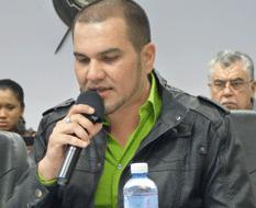 regidor Javier Martínez